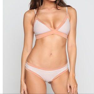 Acacia swimwear mesh bikini set Tetiaroa São Paulo